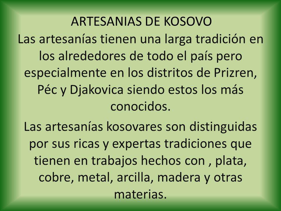 ARTESANIAS DE KOSOVO