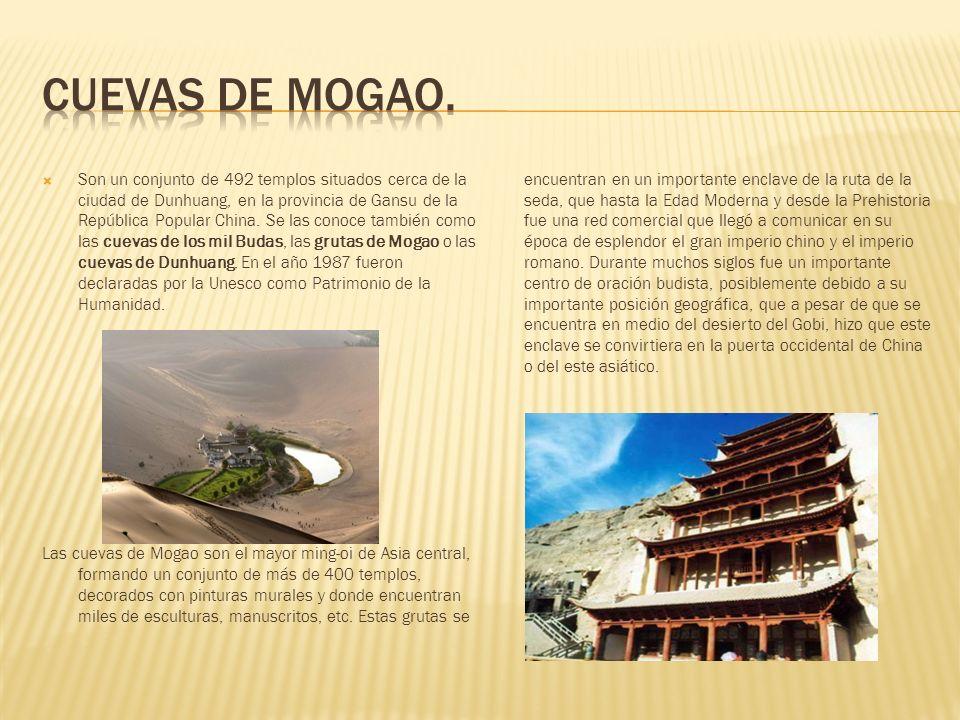 Cuevas de Mogao.
