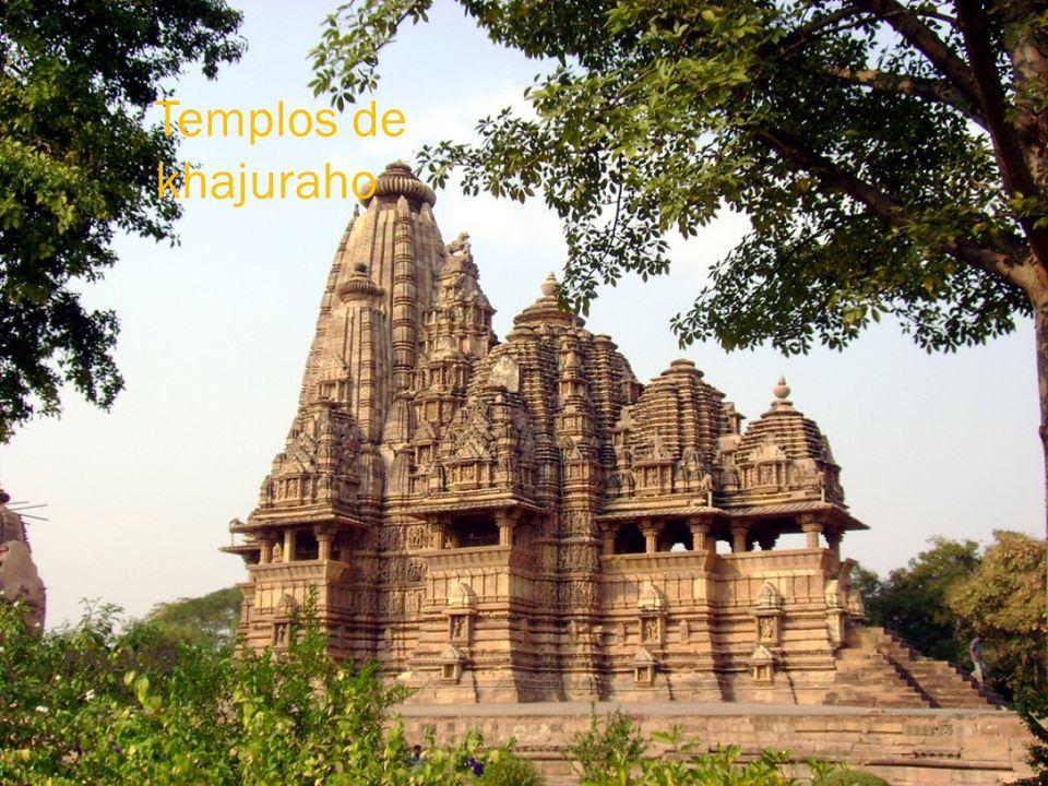 Templos de khajuraho Palacio