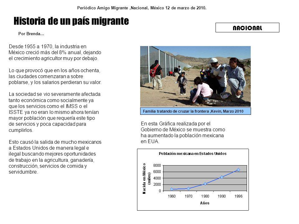 Historia de un país migrante