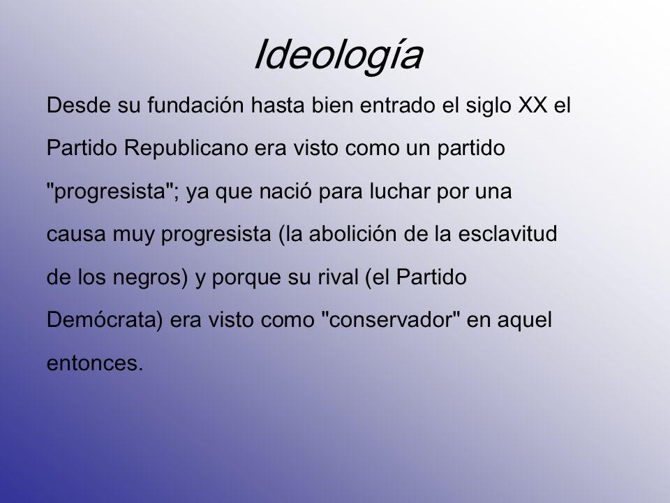 Ideología Desde su fundación hasta bien entrado el siglo XX el