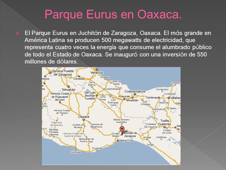 Parque Eurus en Oaxaca.