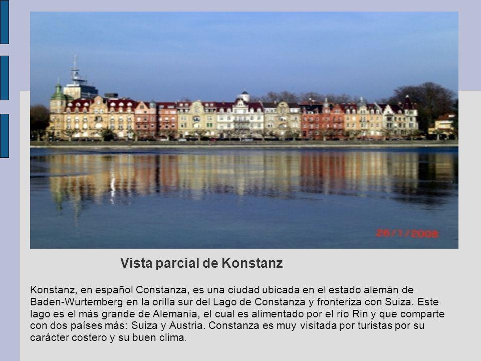 Vista parcial de Konstanz
