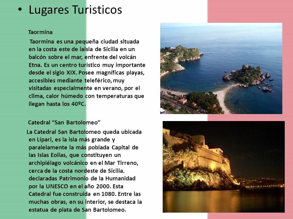 Lugares Turisticos Taormina