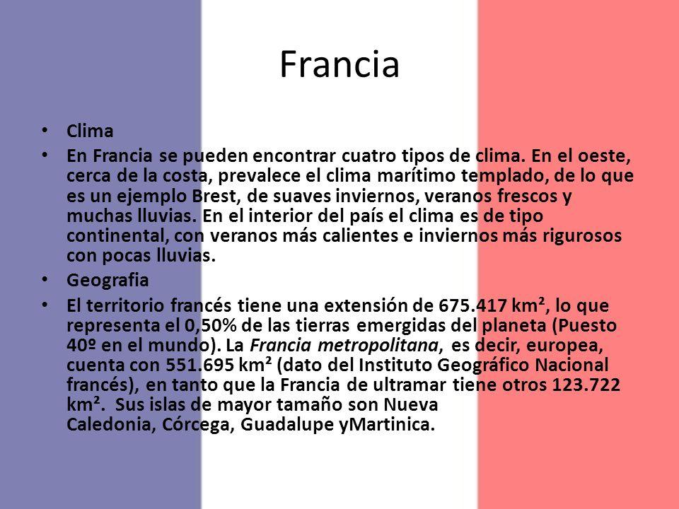 Francia Clima.