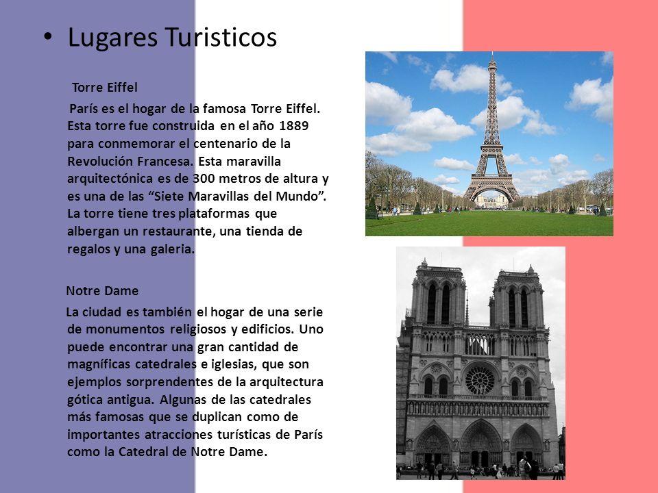 Lugares Turisticos Torre Eiffel
