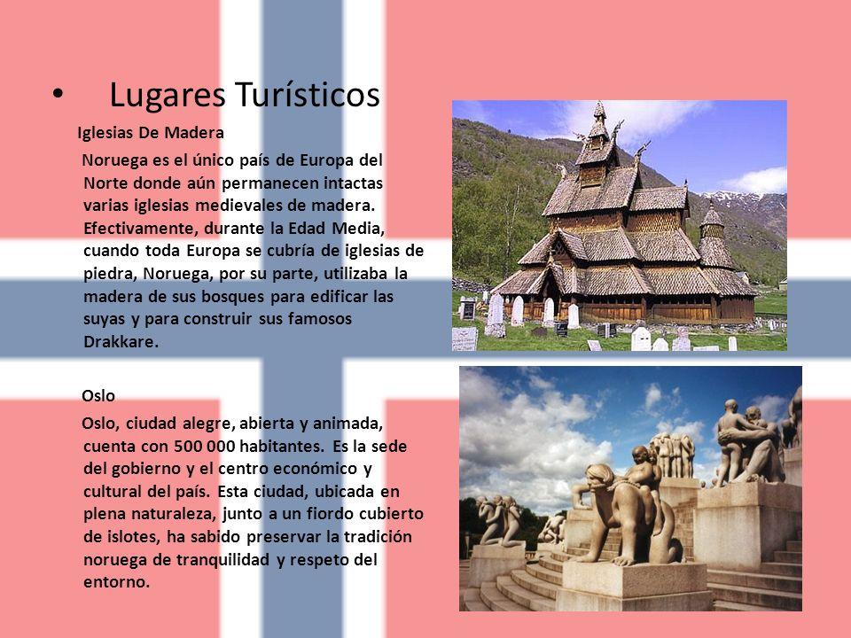 Lugares Turísticos Iglesias De Madera