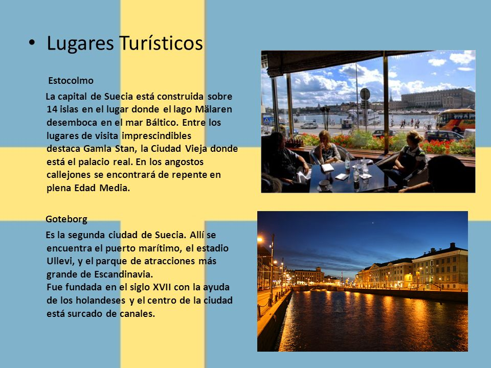 Lugares Turísticos Estocolmo