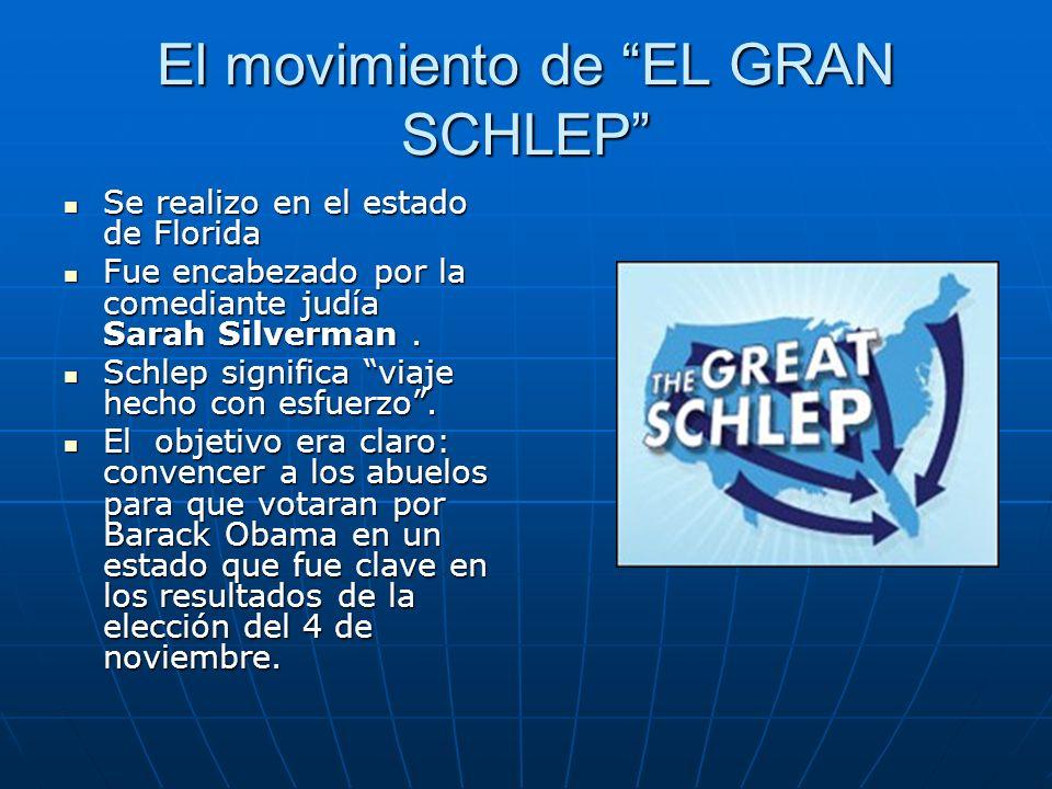 El movimiento de EL GRAN SCHLEP