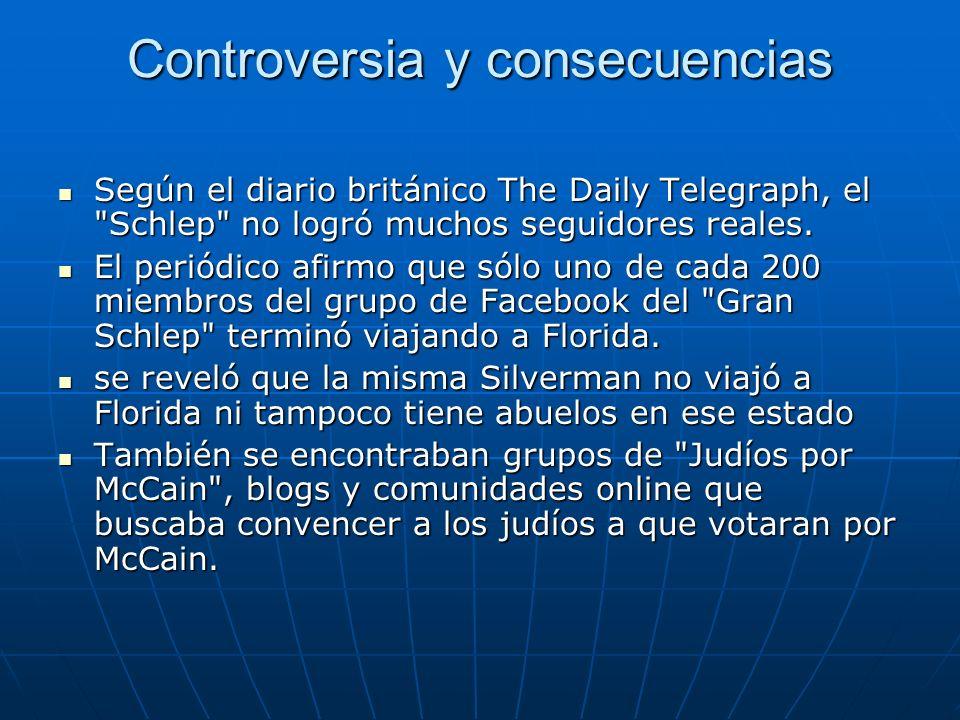 Controversia y consecuencias