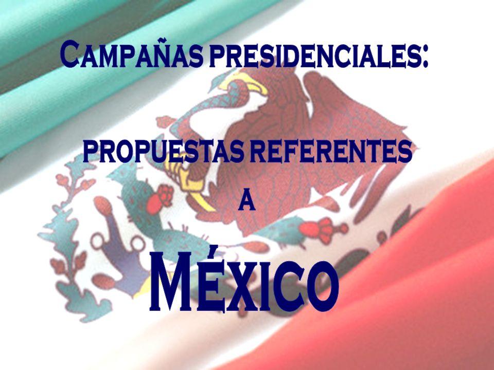 Campañas presidenciales: propuestas referentes