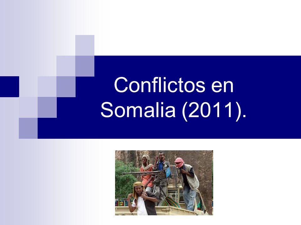 Conflictos en Somalia (2011).