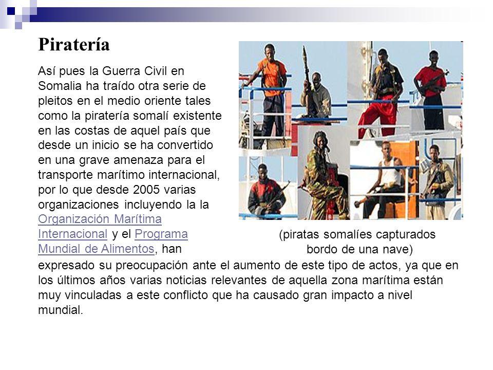 (piratas somalíes capturados