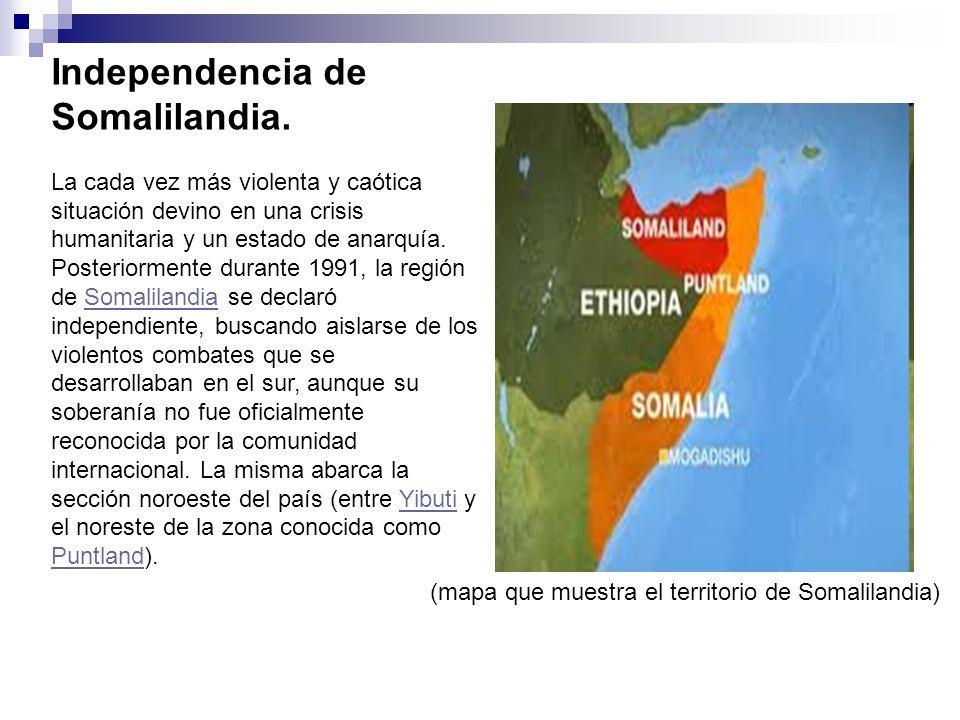 Independencia de Somalilandia.