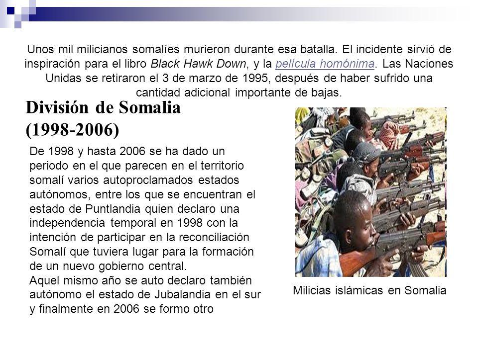 División de Somalia (1998-2006)