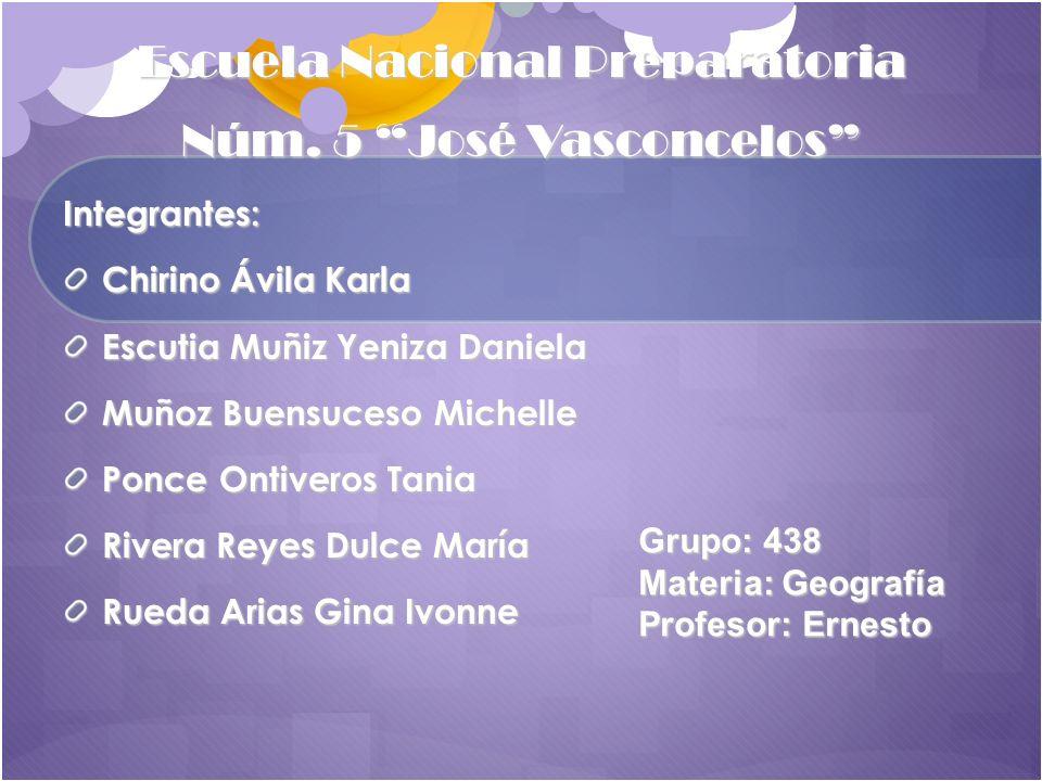 Escuela Nacional Preparatoria Núm. 5 José Vasconcelos