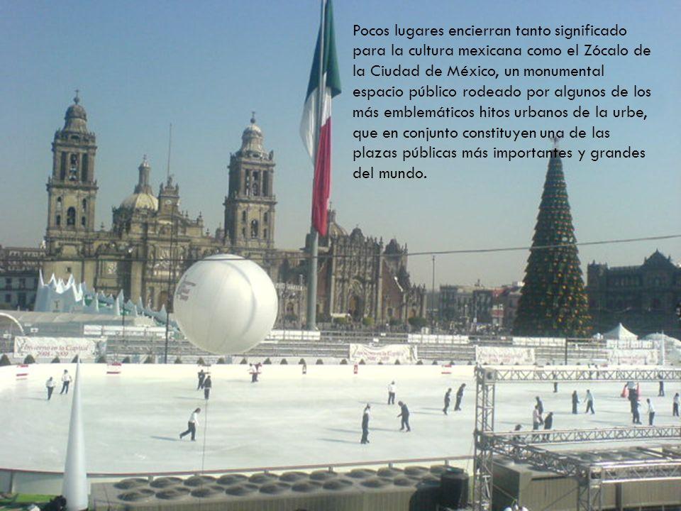 Pocos lugares encierran tanto significado para la cultura mexicana como el Zócalo de la Ciudad de México, un monumental espacio público rodeado por algunos de los más emblemáticos hitos urbanos de la urbe, que en conjunto constituyen una de las plazas públicas más importantes y grandes del mundo.