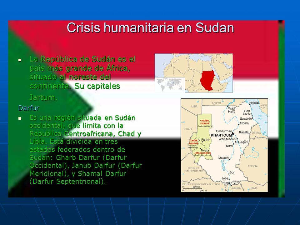 Crisis humanitaria en Sudan