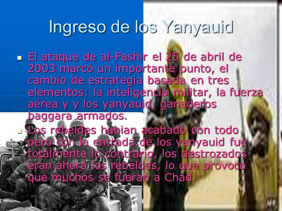 Ingreso de los Yanyauid