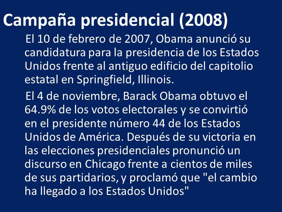 Campaña presidencial (2008)