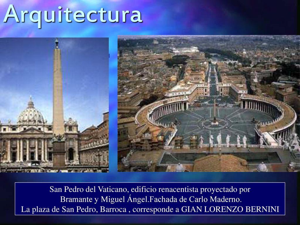 Arte barroco cuarto a o unidad n ppt descargar - Arquitectura miguel angel ...