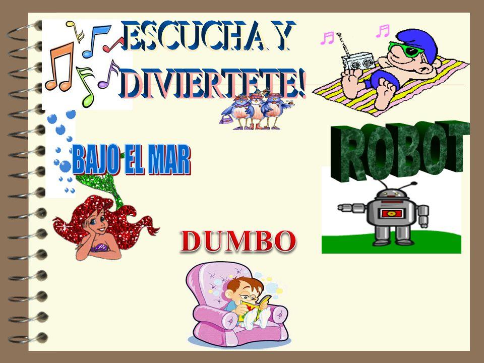 ESCUCHA Y DIVIERTETE! ROBOT BAJO EL MAR DUMBO