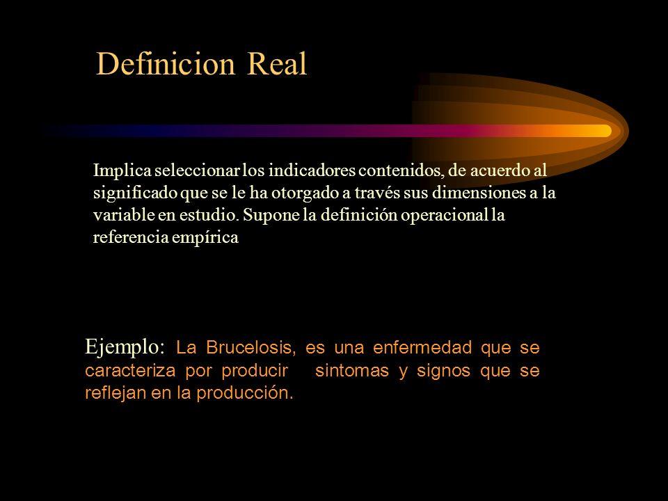 Definicion Real