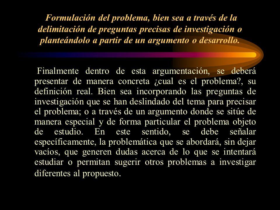 2. Fundamentos Teóricos y Empíricos 1 del Problema de Investigación. ¡