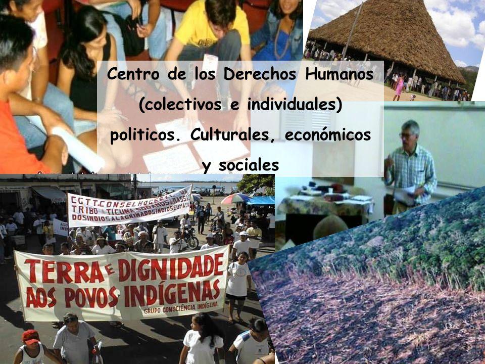 Centro de los Derechos Humanos (colectivos e individuales)