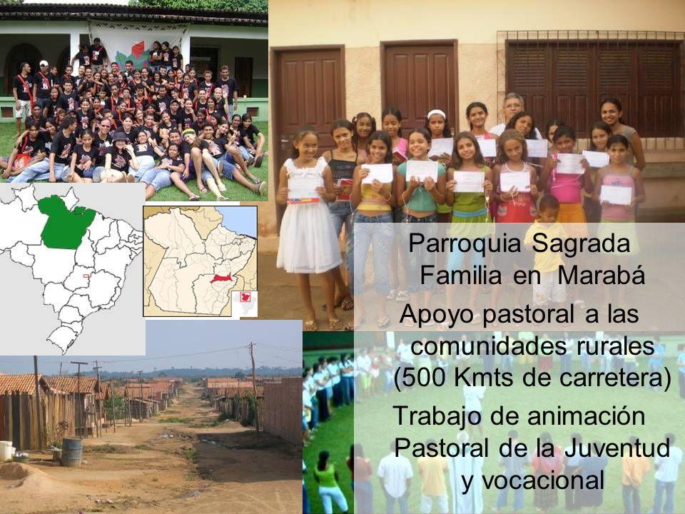 Parroquia Sagrada Familia en Marabá