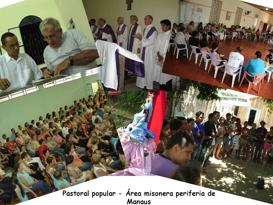 Pastoral popular - Área misonera periferia de Manaus