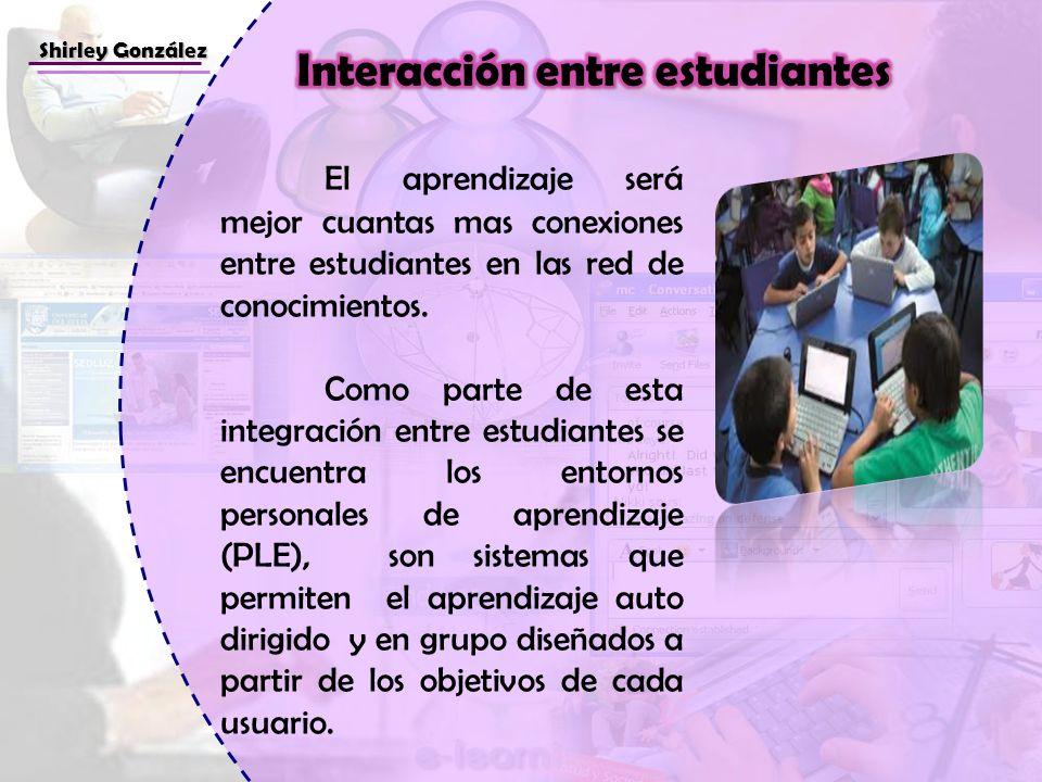 Interacción entre estudiantes