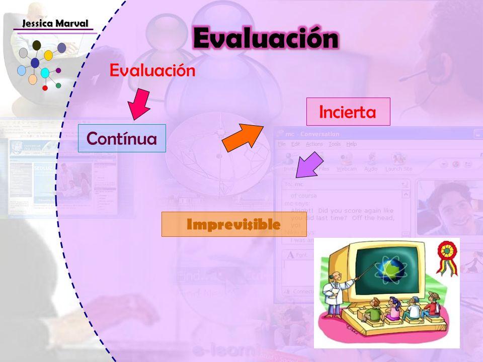 Jessica Marval Evaluación Evaluación Incierta Contínua Imprevisible