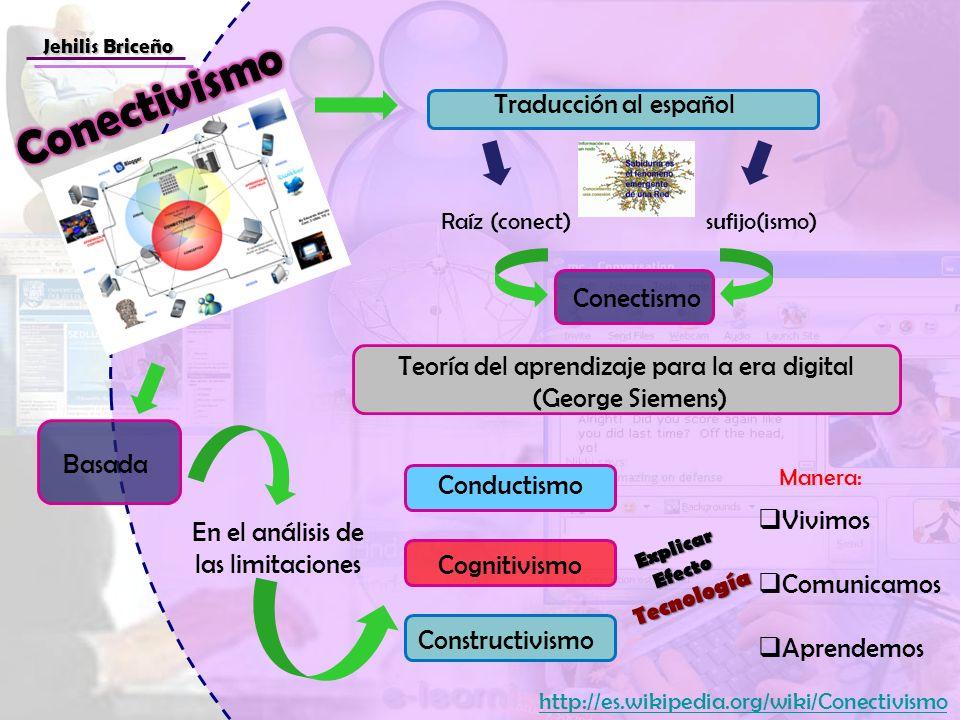 Conectivismo Traducción al español Conectismo