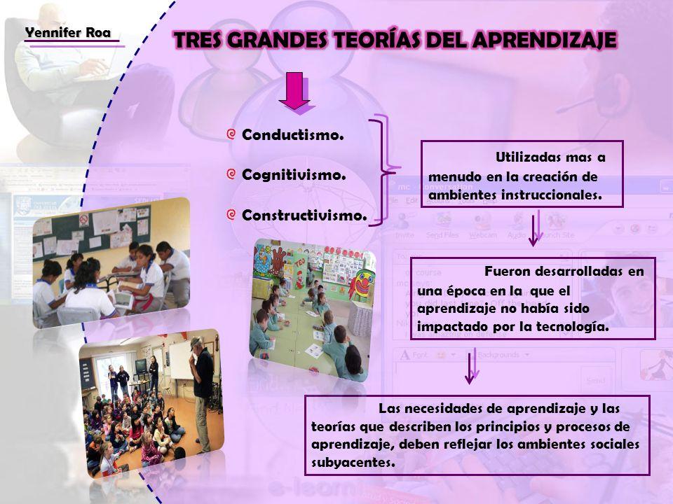 TRES GRANDES TEORÍAS DEL APRENDIZAJE