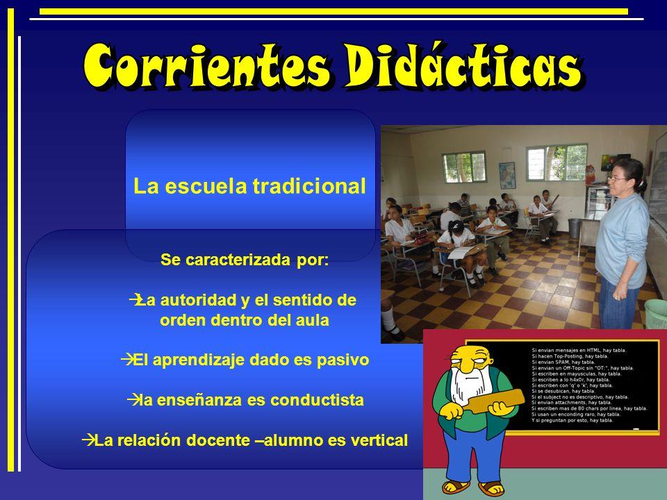 Corrientes Didácticas