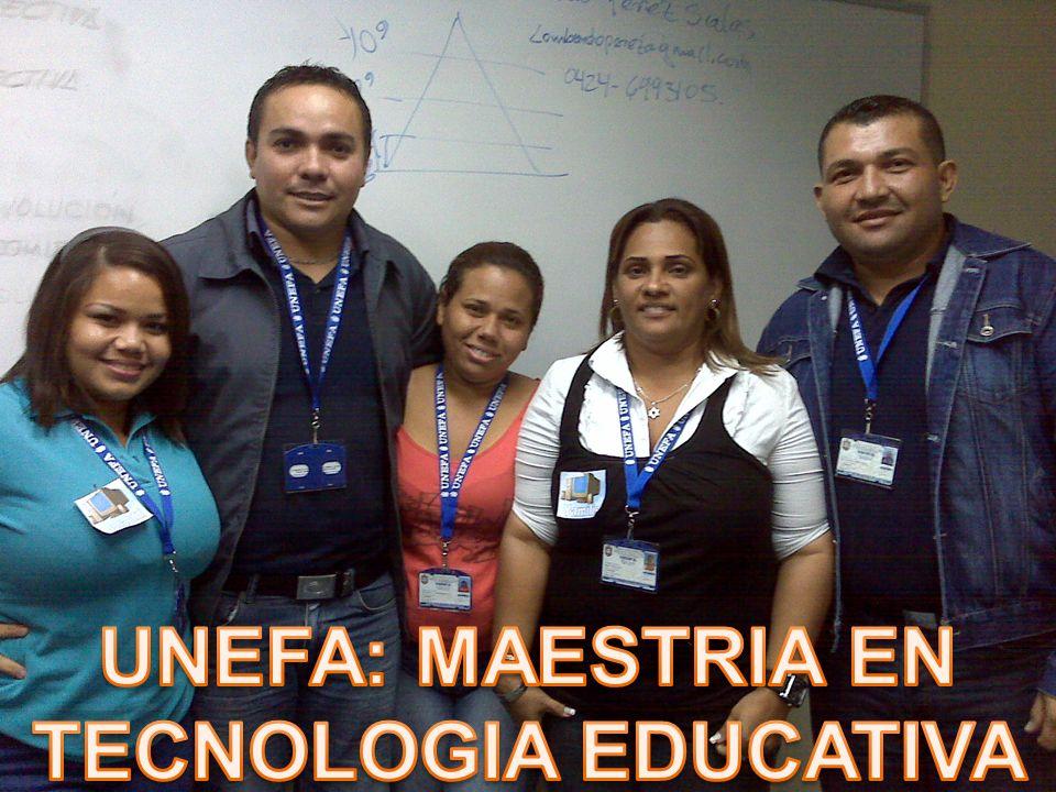 UNEFA: MAESTRIA EN TECNOLOGIA EDUCATIVA