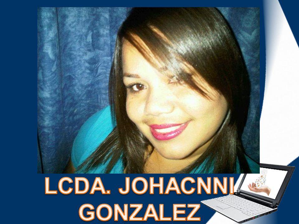 LCDA. JOHACNNI GONZALEZ