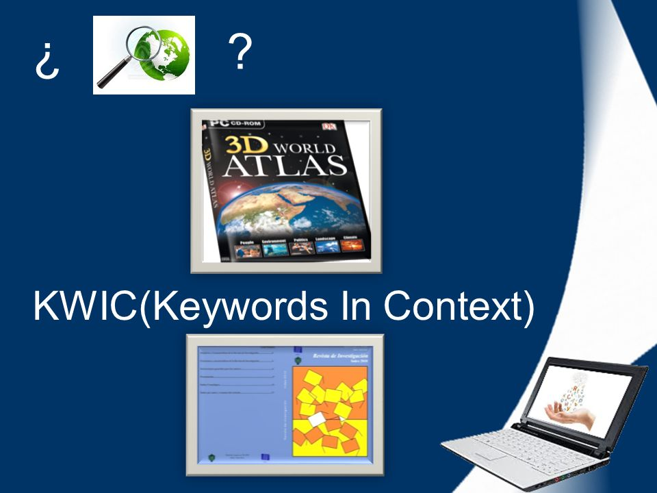 ¿ KWIC(Keywords In Context)