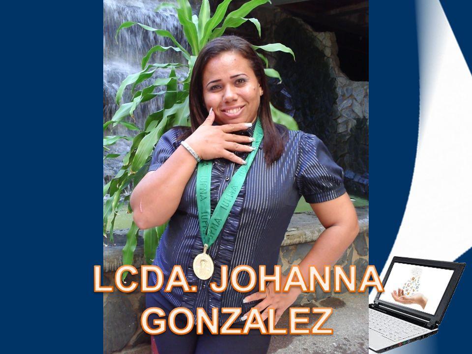 LCDA. JOHANNA GONZALEZ