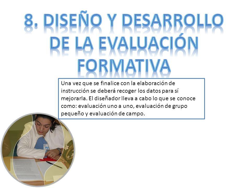 De la evaluación formativa