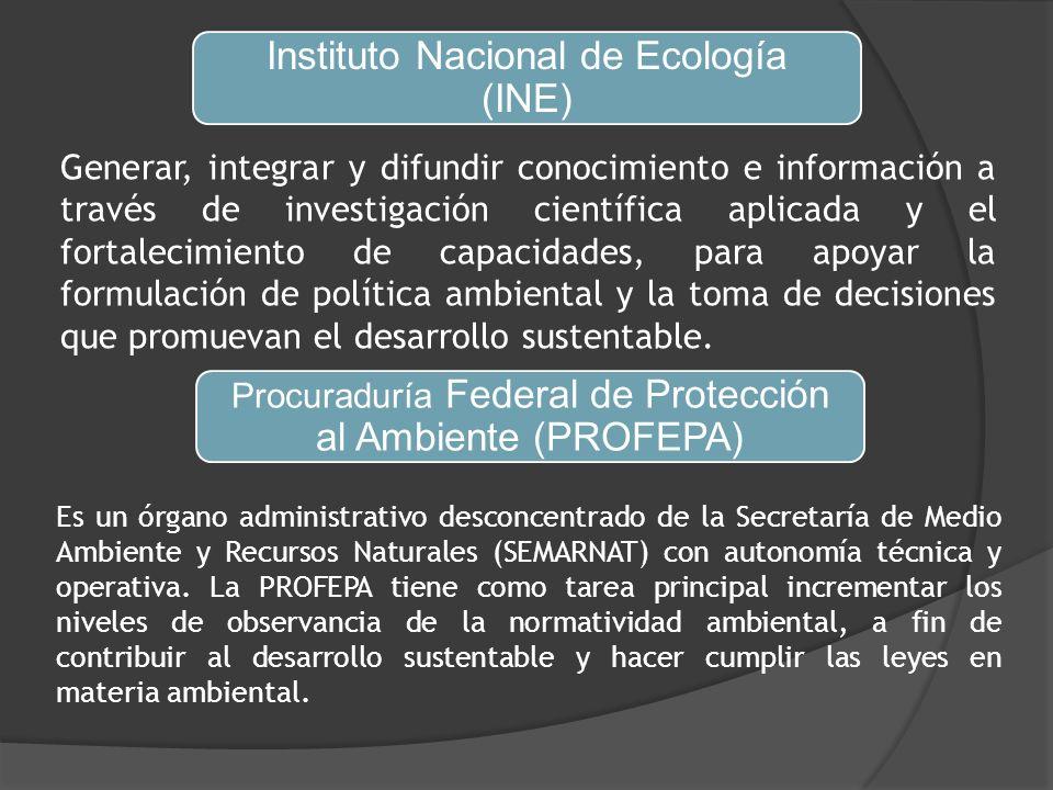 Instituto Nacional de Ecología (INE)