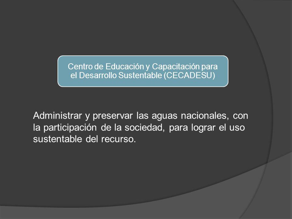 Centro de Educación y Capacitación para el Desarrollo Sustentable (CECADESU)