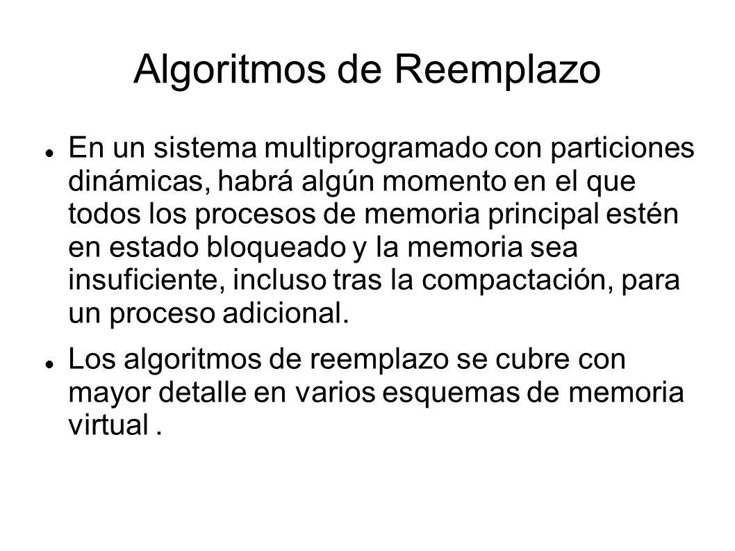 Algoritmos de Reemplazo