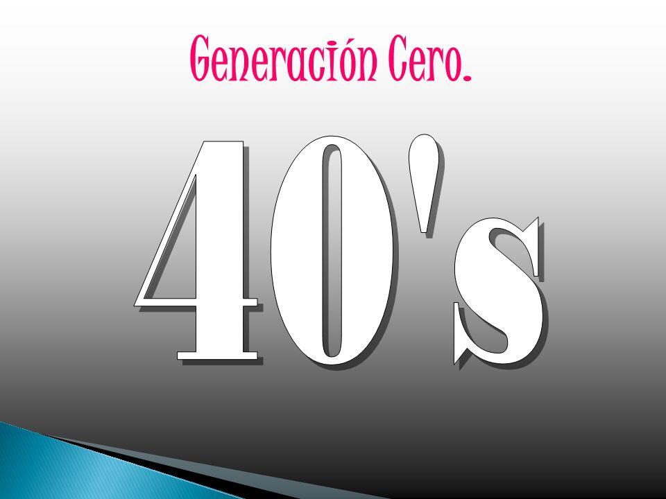 Generación Cero. 40 s