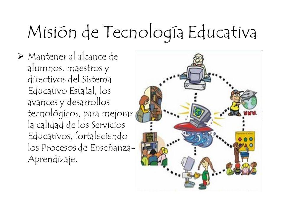 Misión de Tecnología Educativa