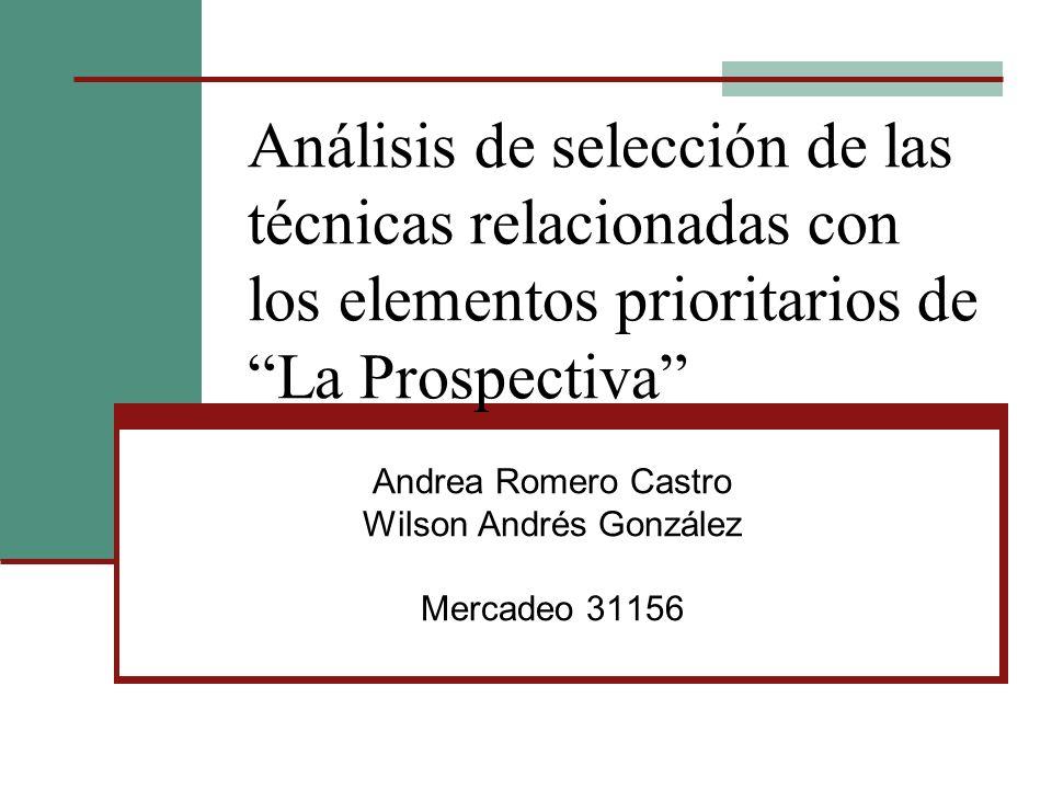 Andrea Romero Castro Wilson Andrés González Mercadeo 31156