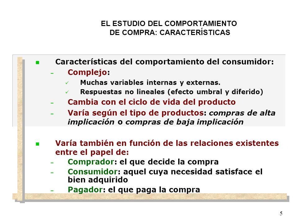 EL ESTUDIO DEL COMPORTAMIENTO DE COMPRA: DEFINICIÓN