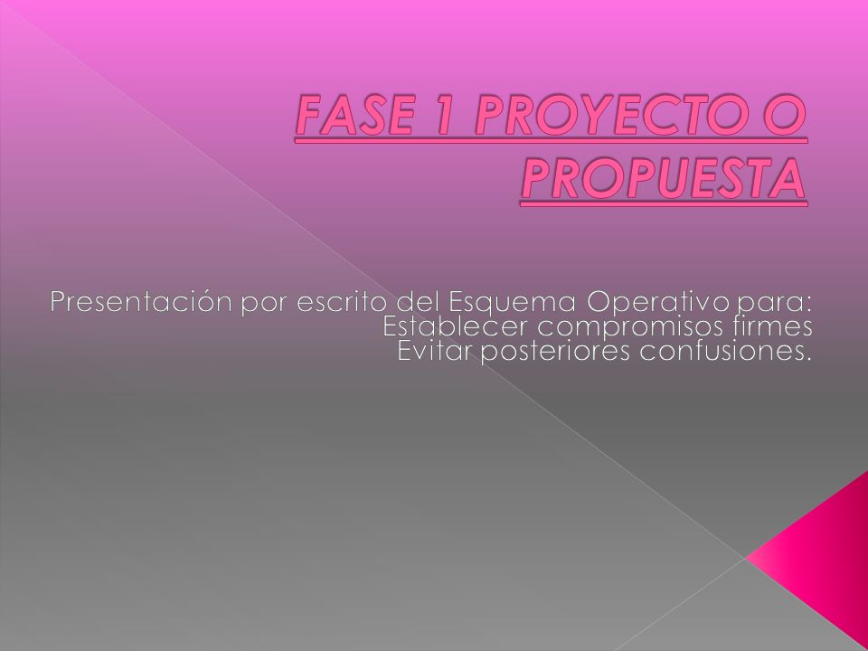 FASE 1 PROYECTO O PROPUESTA