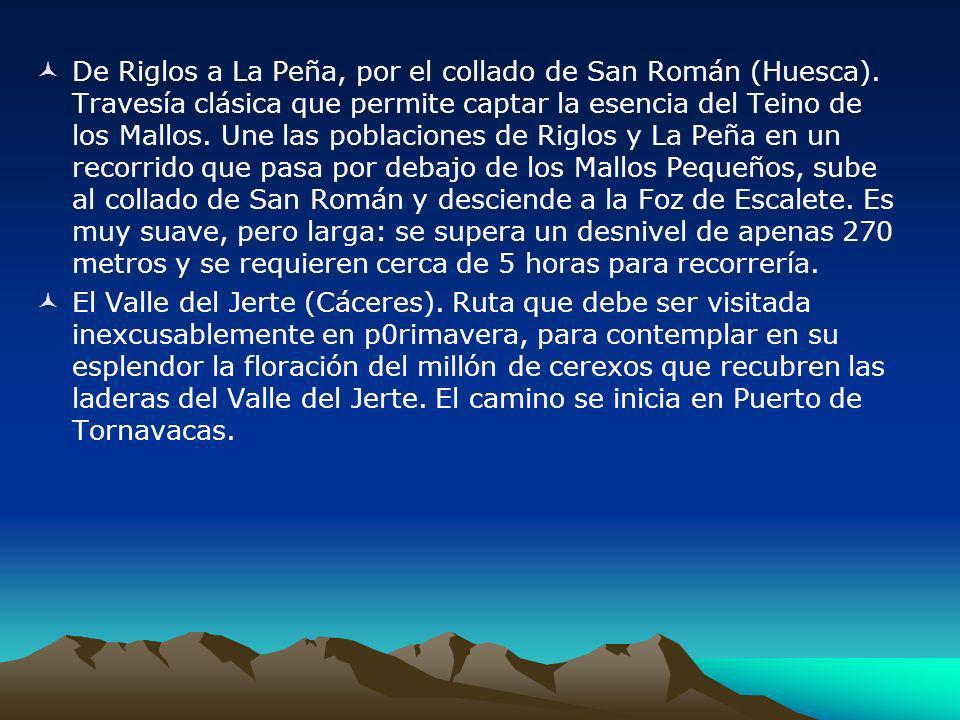 De Riglos a La Peña, por el collado de San Román (Huesca)
